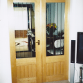 joiner-made double doors